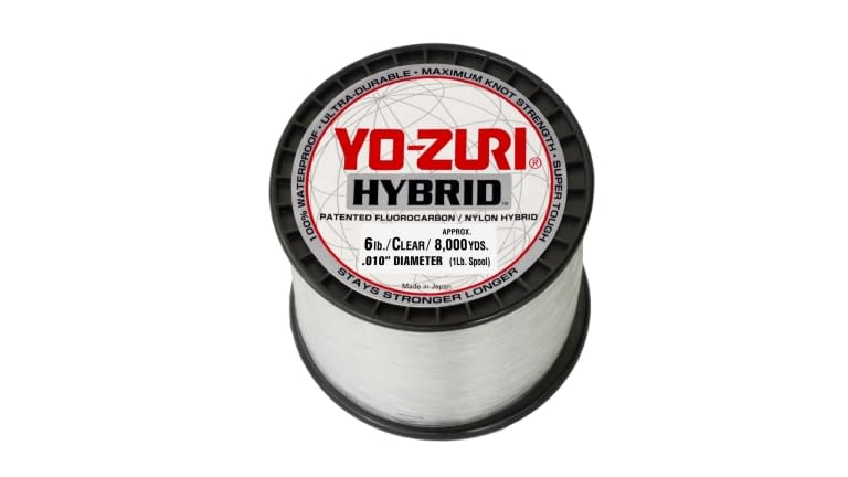 Yo-Zuri Hybrid 1lb Spool - 6HB 1PCL