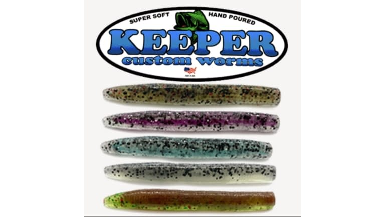 """Keeper Fat 3"""" Do Nothing Ned Worms"""