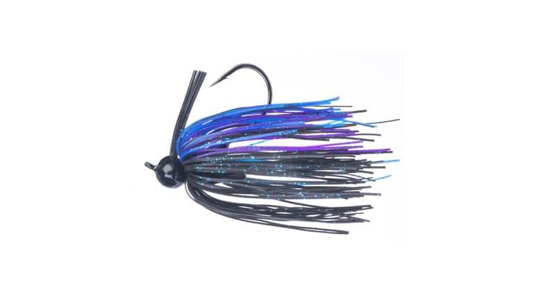 Santone M Series Football Jig - Black/Blue/Purple