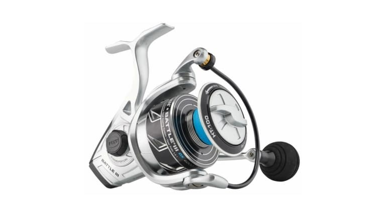 Penn Battle III DX Spinning Reels - BTLIII6000DX